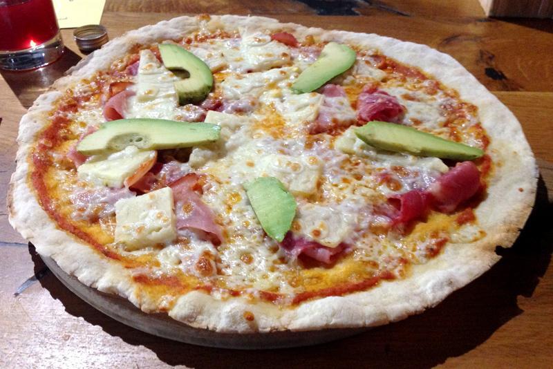 The Stable, Bristol - The Fresh Hawaiian Pizza