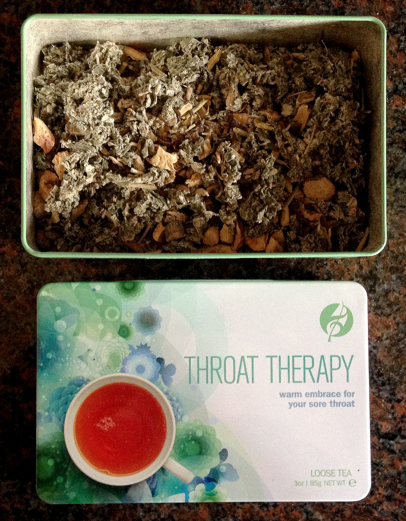 Adagio Teas Body and Soul Tin Set - Throat Therapy