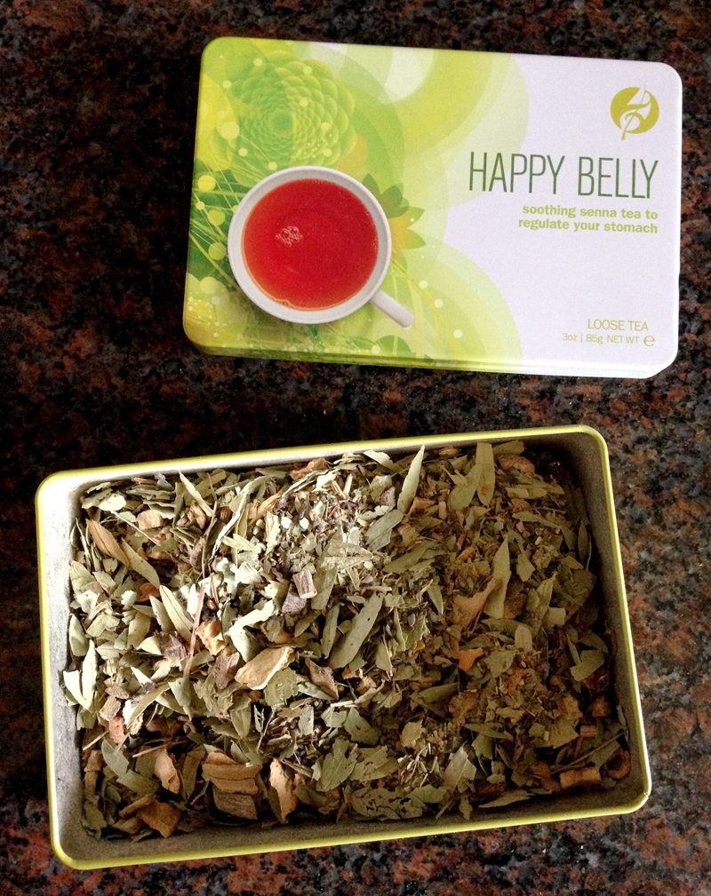 Adagio Teas Body and Soul Tin Set - Happy Belly