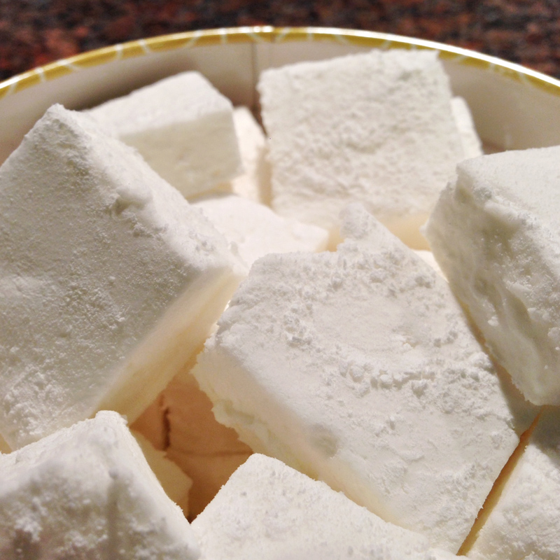 Home Made Marshmallow - Attempt 1