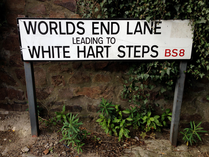 Exploring Bristol - Worlds End Lane, Bristol
