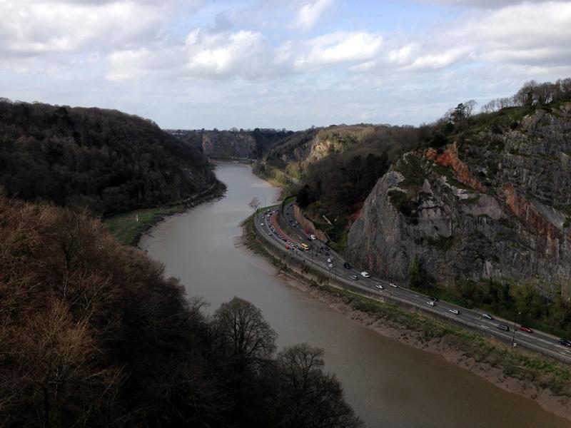 Exploring Bristol - From Clifton Suspension Bridge