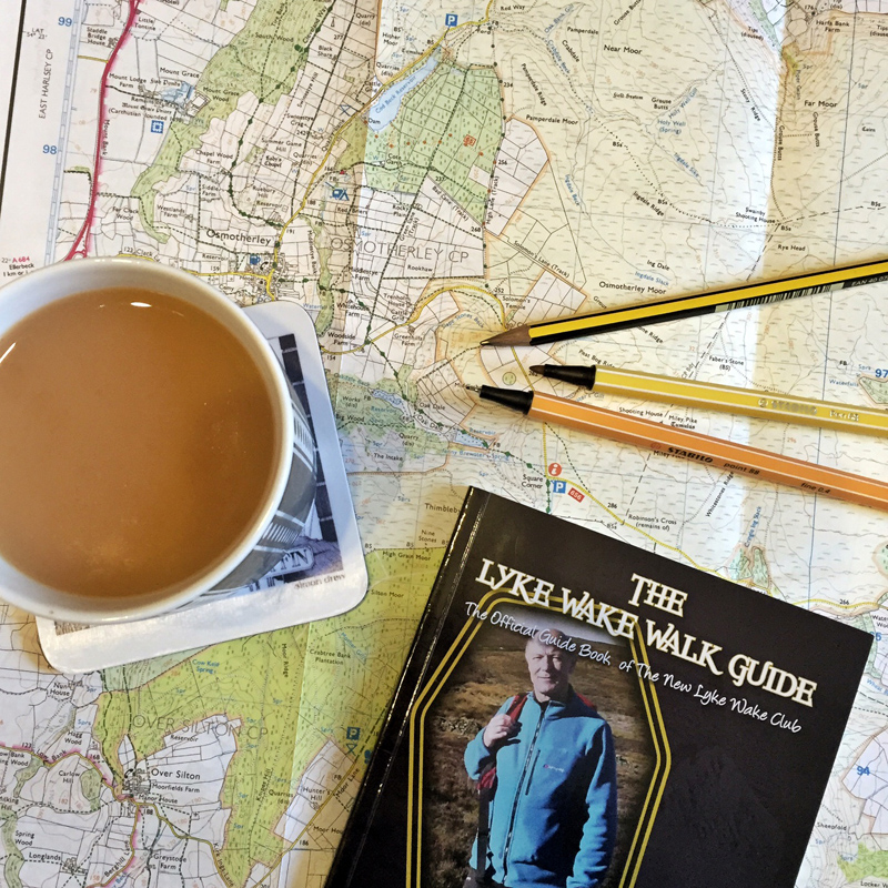 Lyke Wake Walk - Route Planning Maps and Guide