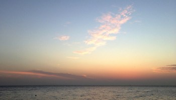 MobileTravelChallenge - Sunset at Southend