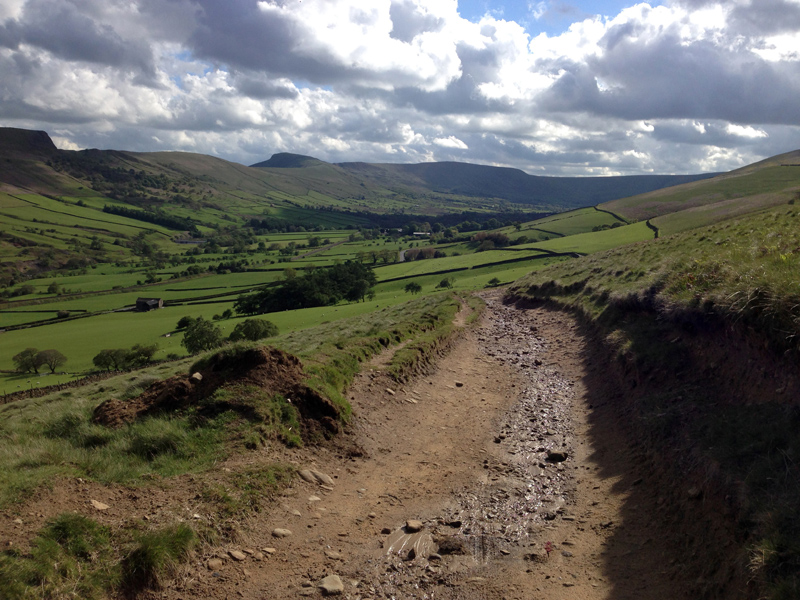 View of Hope Valley, near Neither Booth and Edale
