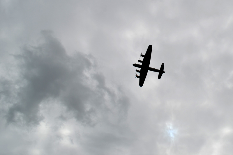 Stephen Langton Trail - Lancaster Bomber BBMF
