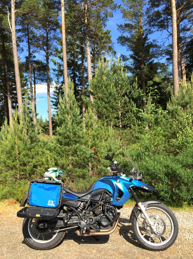 Flight001 Spacepak Compression Unit and my Motorbike