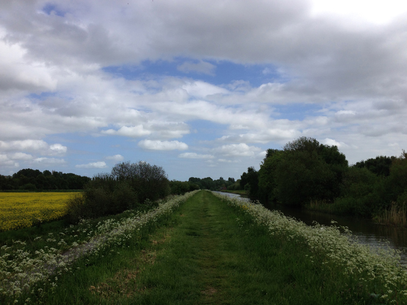 Walking in Lincolnshire - River Path
