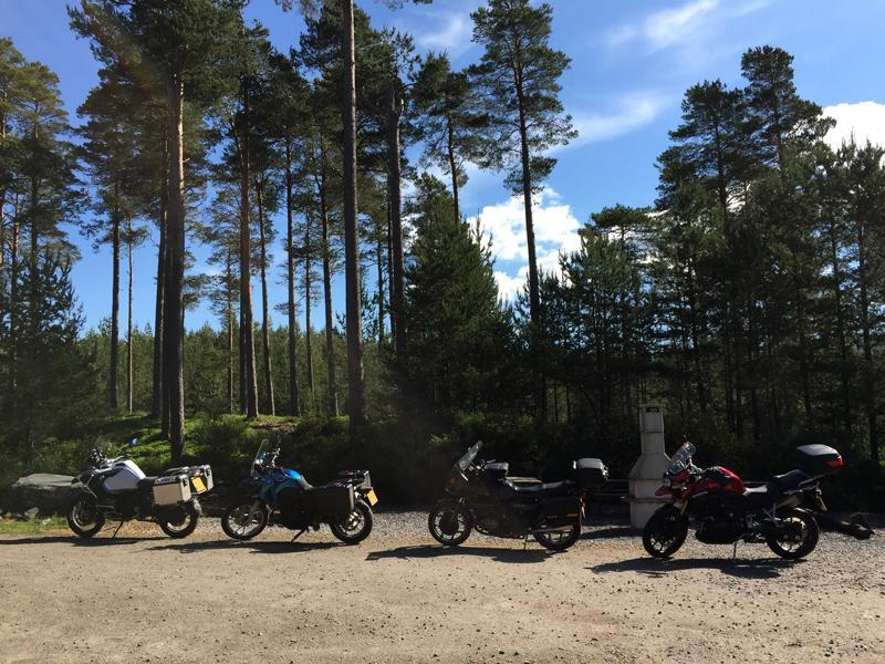 Scotland by Motorbike - Bikes in Feshiebridge