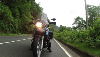 Scotland by Motorbike - Photo from the Drift