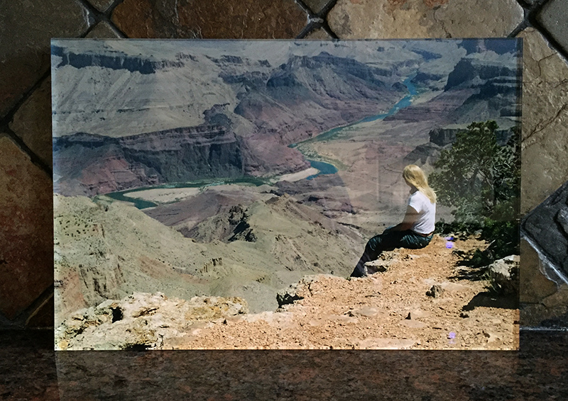 WhiteWall Acrylic Print Grand Canyon Splodz Blogz