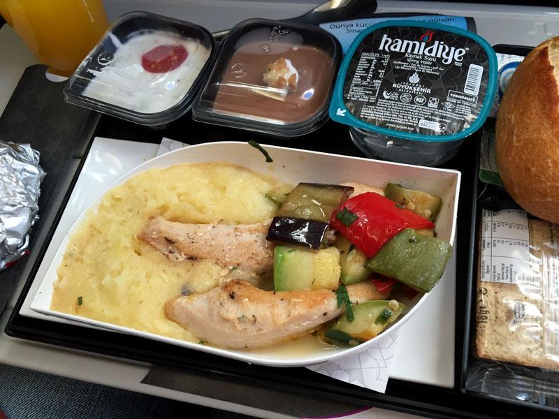 TopDeck Turkey Diary - Dinner