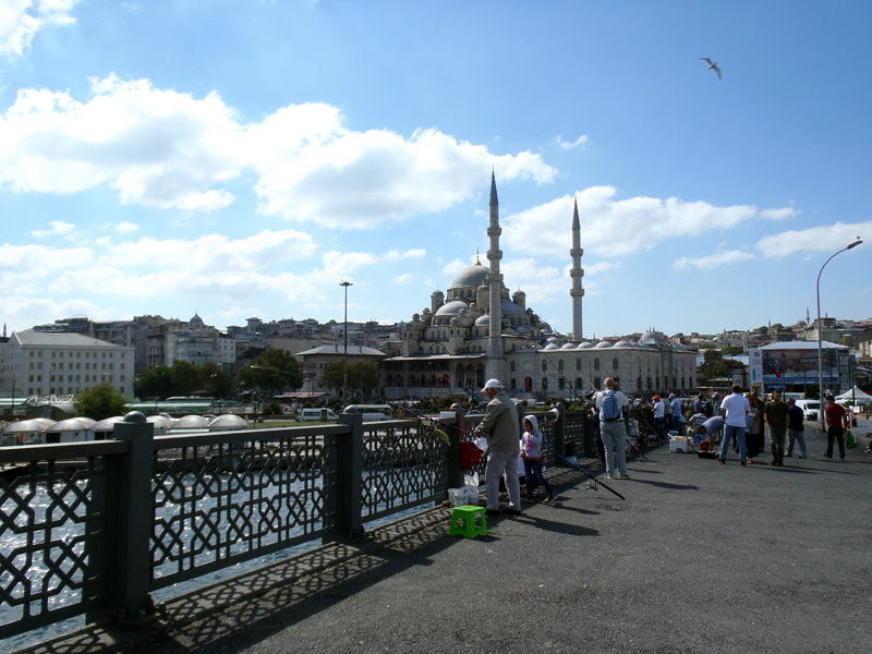 TopDeck Turkey Diary - Galata Bridge