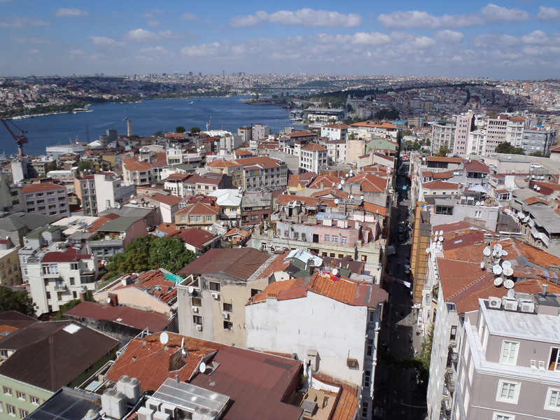 TopDeck Turkey Diary - Galata Tower View
