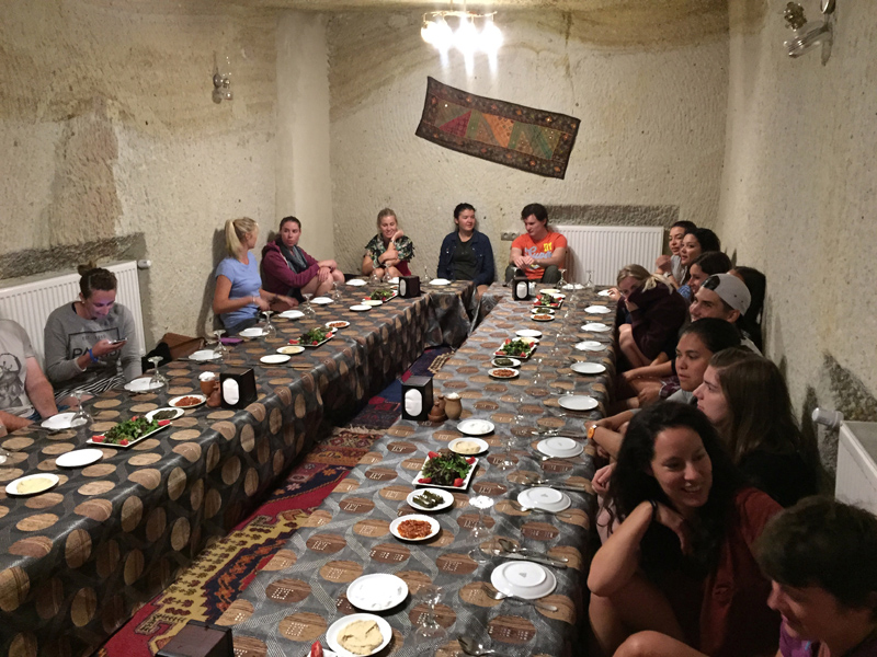TopDeck Turkey Diary - Meal