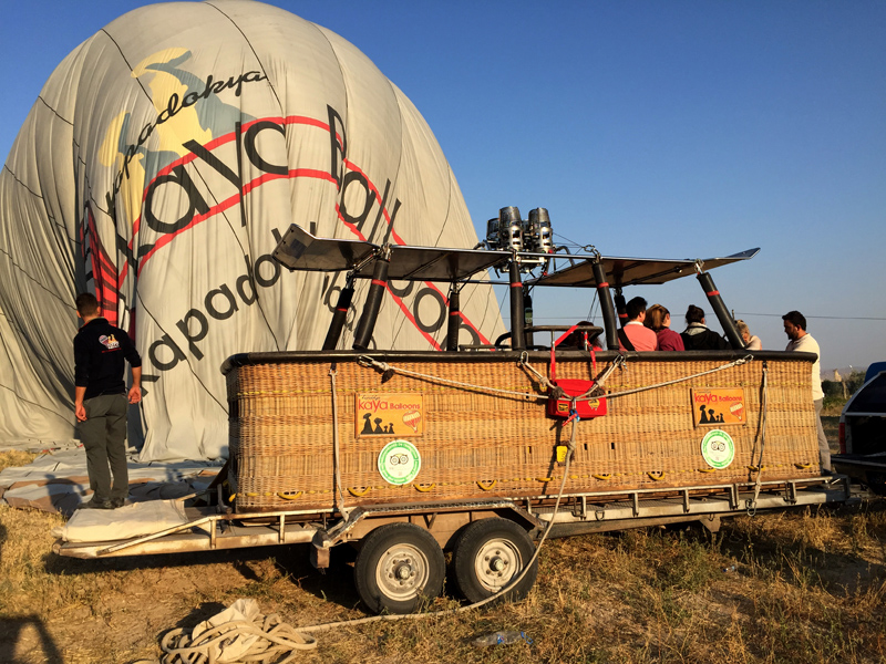 Hot Air Ballooning in Cappadocia | Splodz Blogz