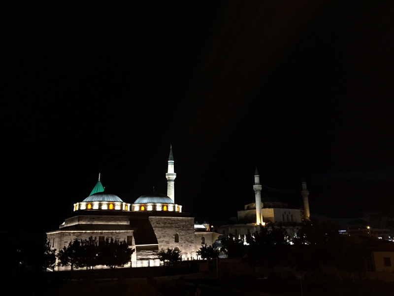 TopDeck Turkey Diary - Mosque