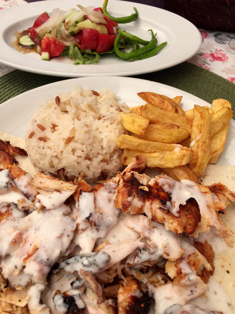 TopDeck Turkey Diary - Kebab in Fethiye