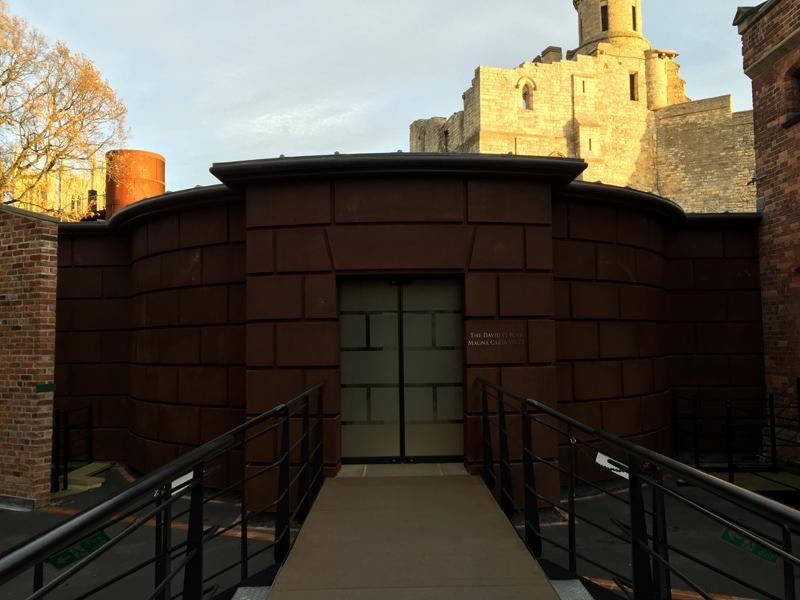 Lincoln Castle Magna Carta Vault