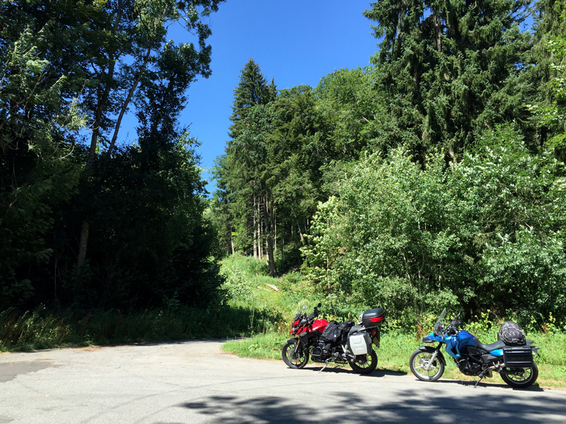 Motorbike Tour of Europe - Black Forest