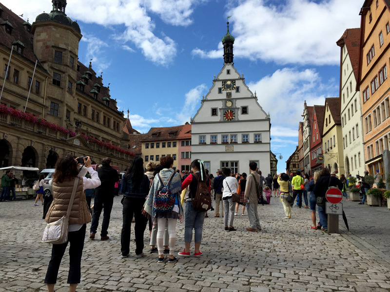 Motorbike Tour of Europe - Rothernburg ob dem Tauber