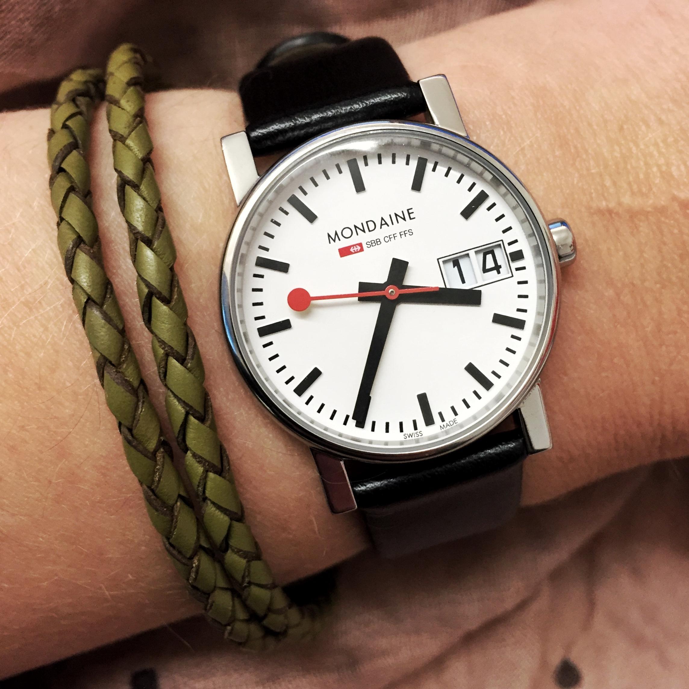 Time - My Mondaine Swiss Railway Watch