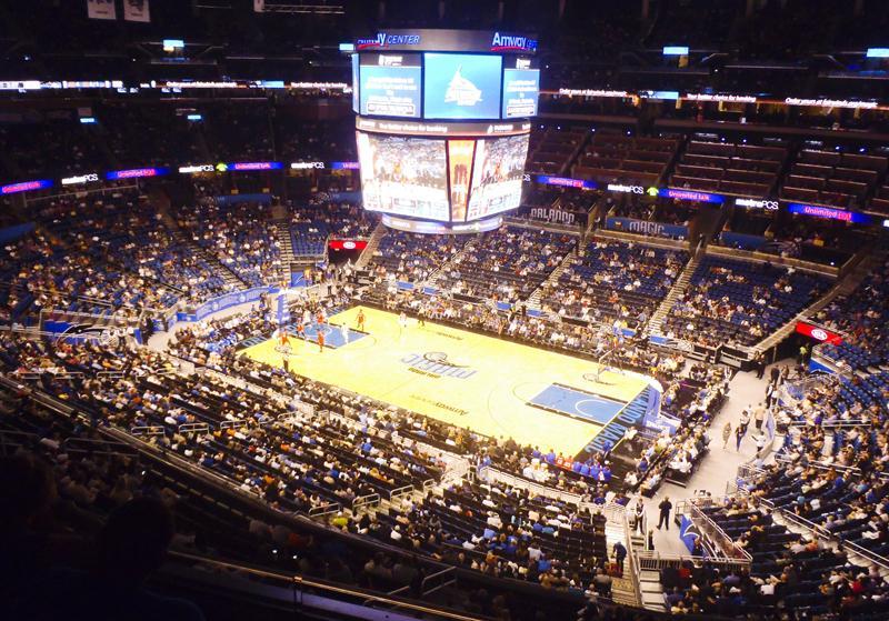 Orlando, Florida - Orlando Magic at Amway Stadium
