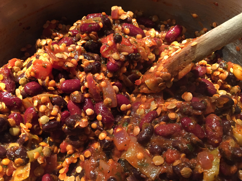 Veggie Chilli Recipe with Splodz Blogz