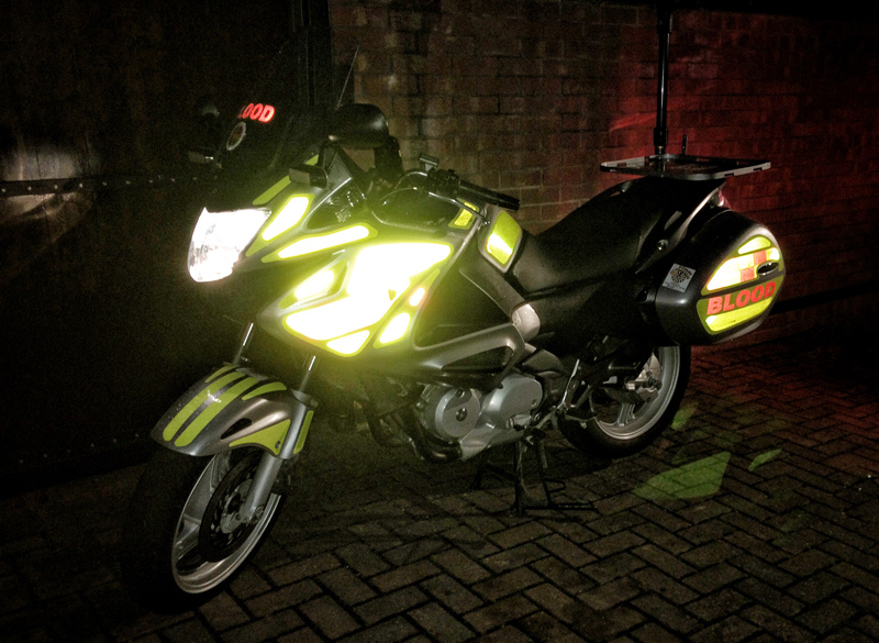 LincsGeek LEBBS Blood Bike