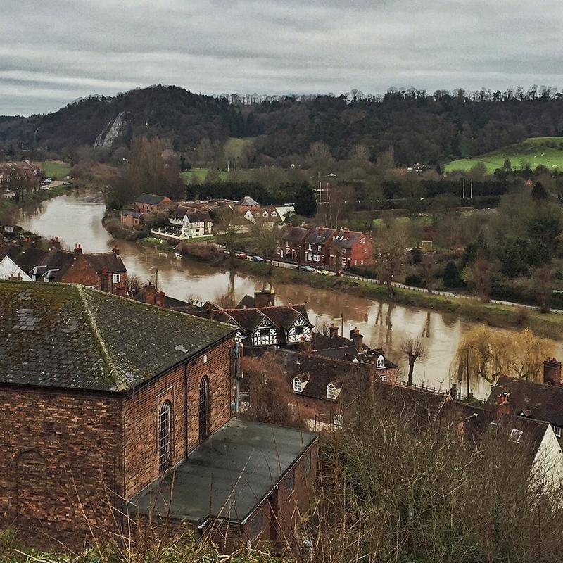 River Severn, Bridgnorth, Shropshire - Splodz Blogz