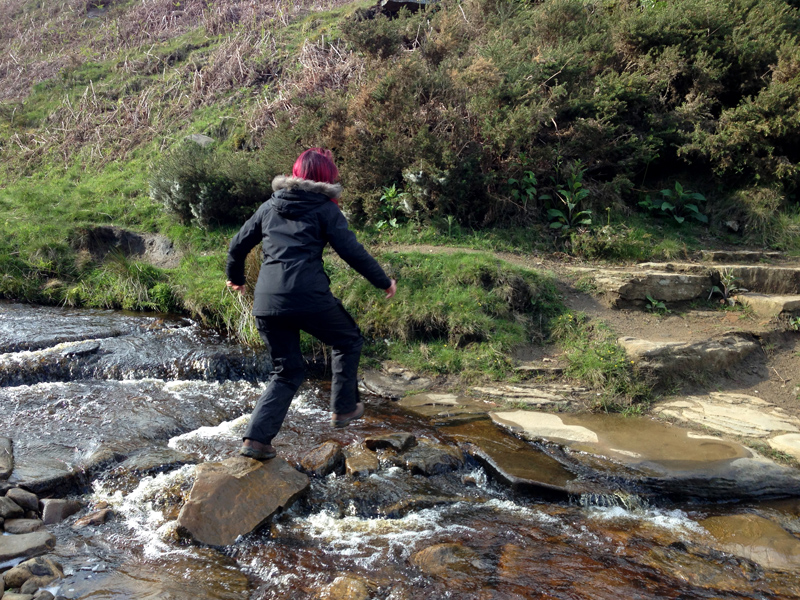 SplodzWPC - Cross - Jenni Crossing a Brook