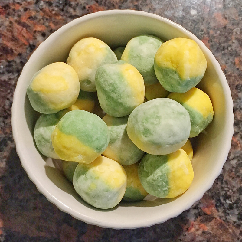 Scoff Club - Lemon and Lime Bonbons - Splodz Blogz
