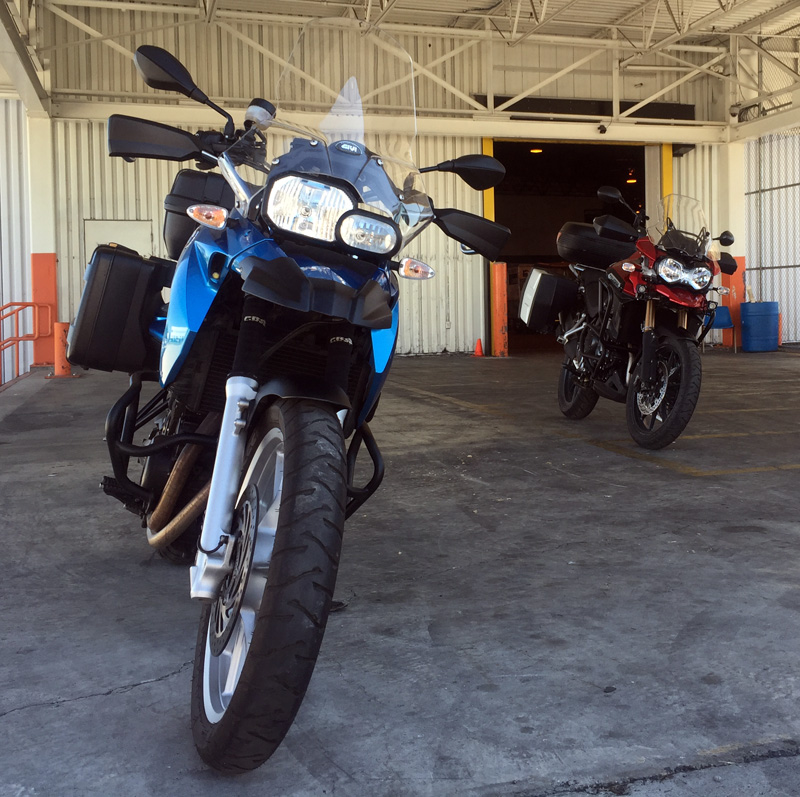 Zartusacan - Retrieving the Bikes