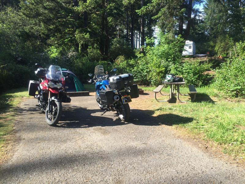 Zartusacan - Camping at Harris Beach State Parkq