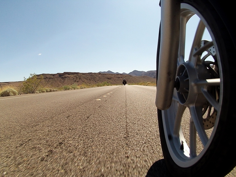 Zartusacan - Riding through Lake Mead Recreation Area