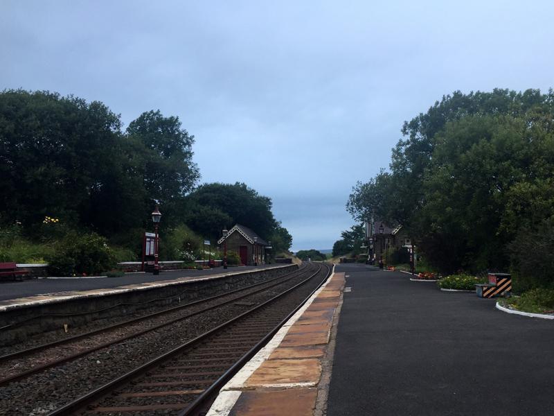 Yorkshire 3 Peaks - Horton Railway Station