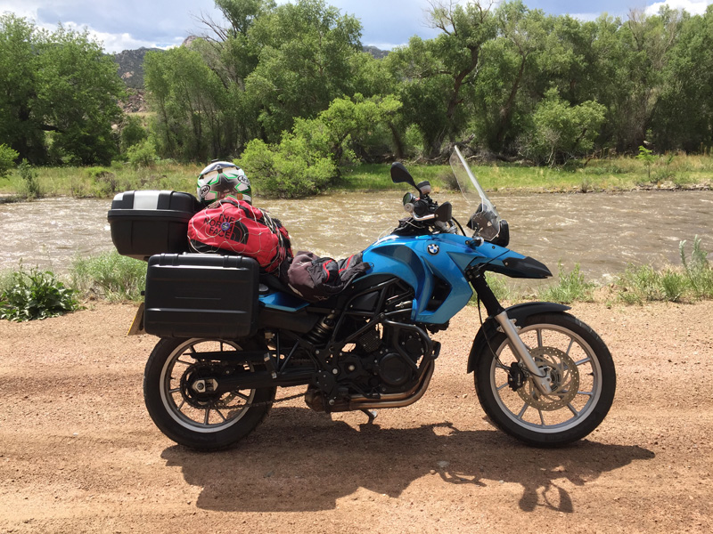 My bike in Colorado