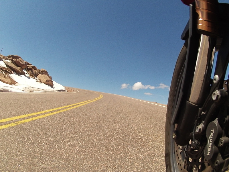Riding Pike's Peak