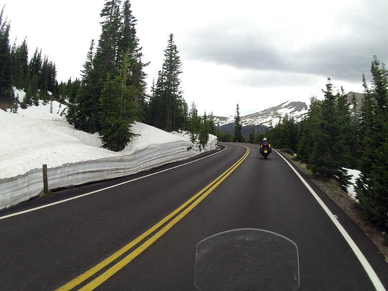 The Trail Ridge Road over the Rockies
