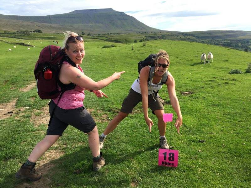 Walking the Yorkshire Three Peaks with Friends