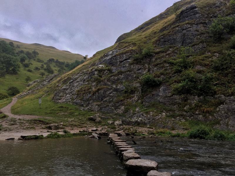 A Wet Walk in Dovedale