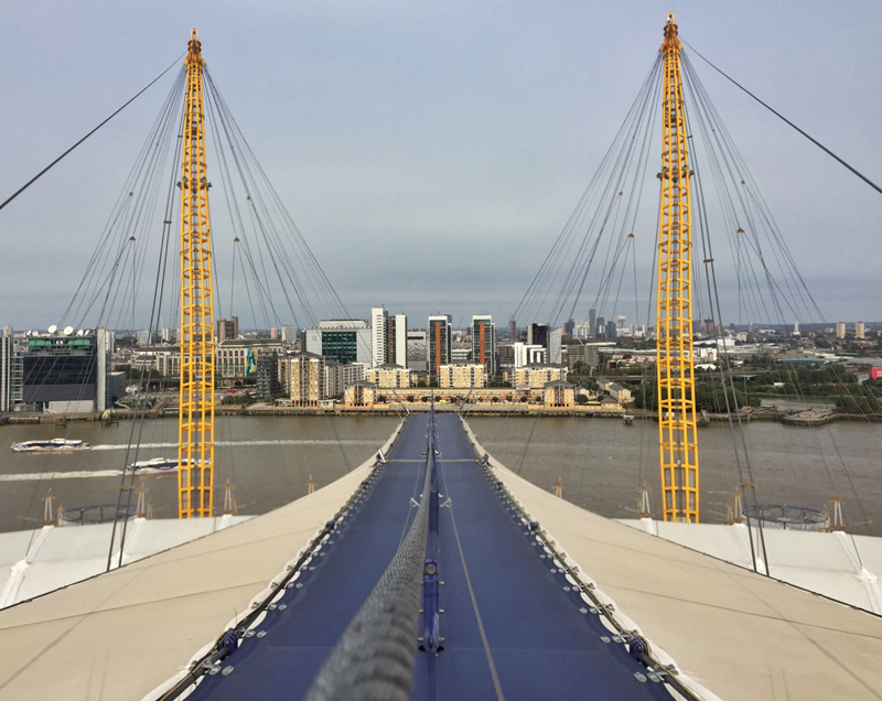 Up at the O2 - Splodz Blogz