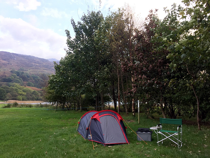 Winter Camping in Llyn Gwynant