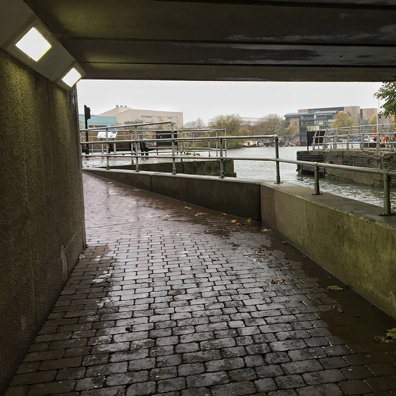 One Hour Outside - Brayford Pool, Lincoln