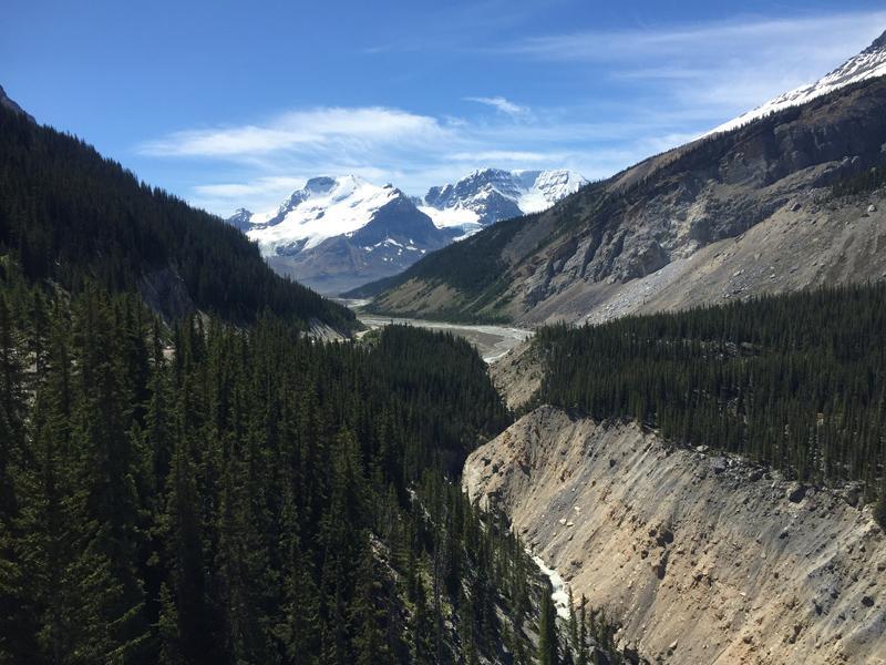 Zartusacan - View from the Glacier Skywalk