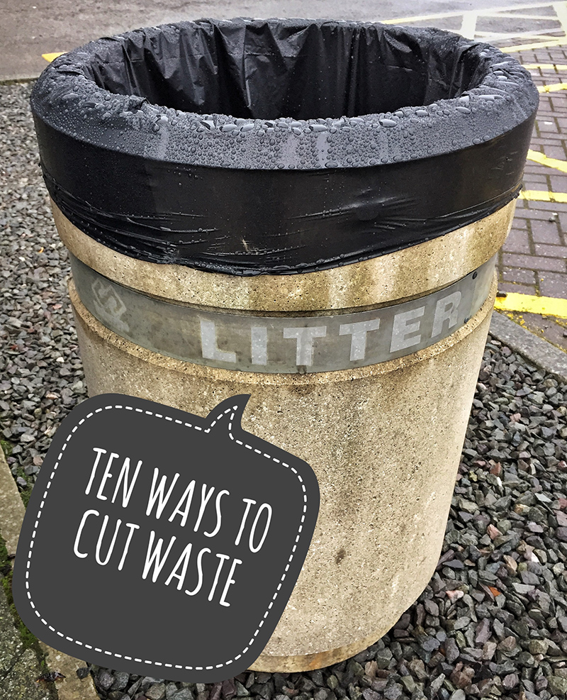 Ten Ways to Cut Waste
