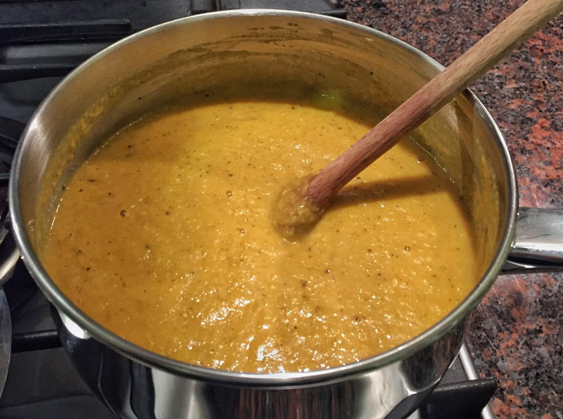 Splodz Blogz Recipe - Curried Roasted Parsnip Soup