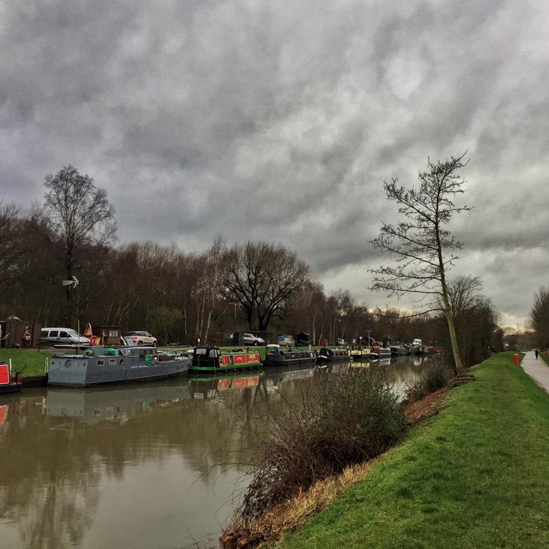 One Hour Outside February - Fossdyke in the Rain