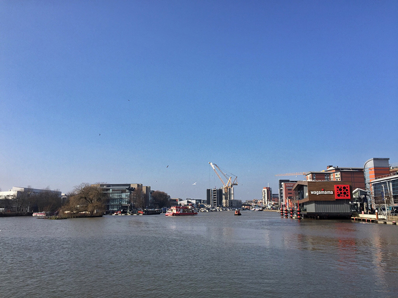 One Hour Outside February - Brayford Pool in the Sunshine