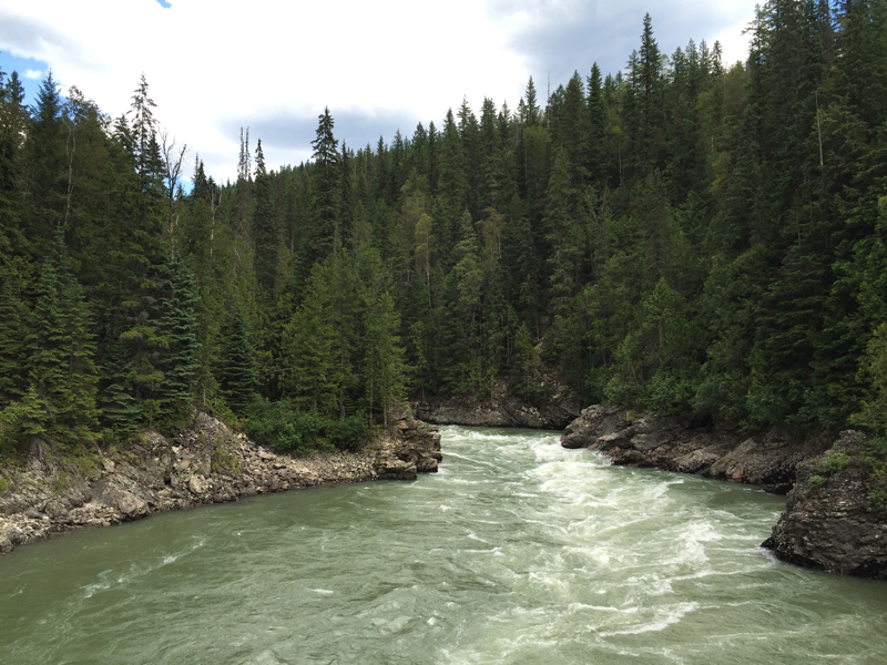 Zartusacan River View in British Columbia